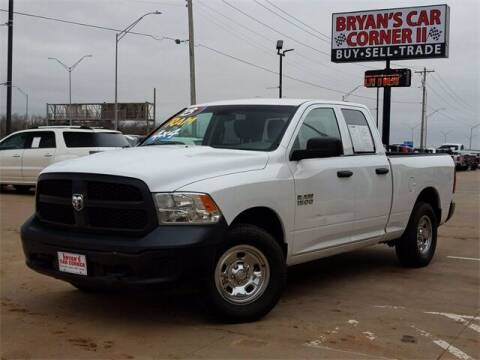 2018 RAM Ram Pickup 1500 for sale at Bryans Car Corner in Chickasha OK