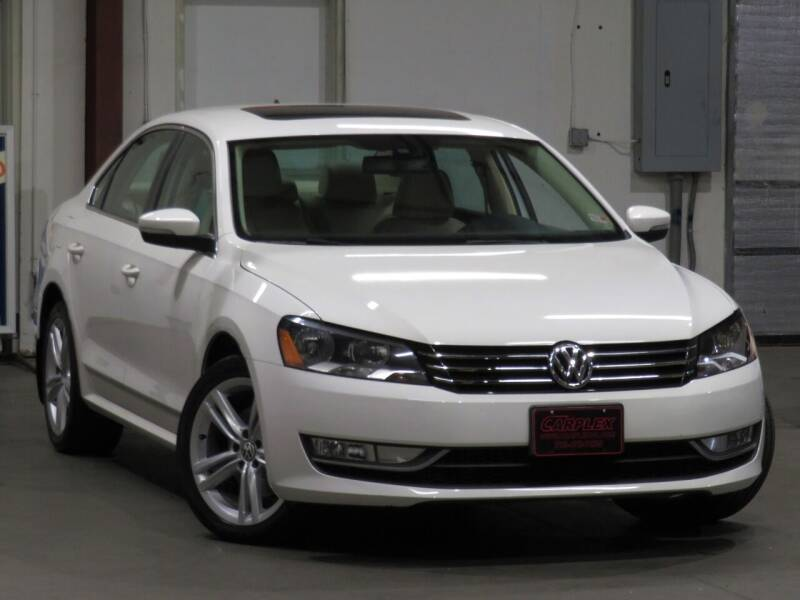 2014 Volkswagen Passat for sale at CarPlex in Manassas VA