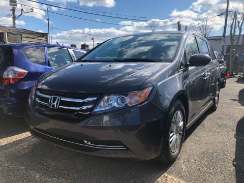 2016 Honda Odyssey for sale at OFIER AUTO SALES in Freeport NY