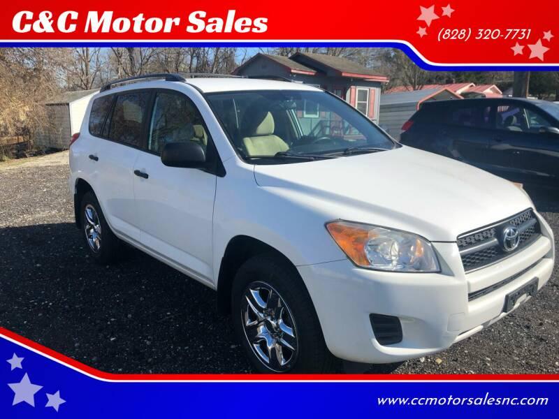 2011 Toyota RAV4 for sale at C&C Motor Sales LLC in Hudson NC