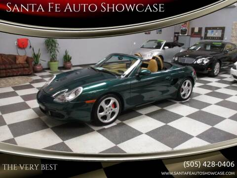 2002 Porsche Boxster for sale at Santa Fe Auto Showcase in Santa Fe NM