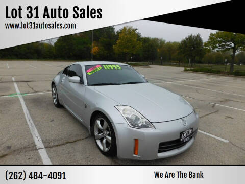 2006 Nissan 350Z for sale at Lot 31 Auto Sales in Kenosha WI