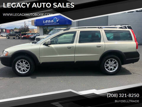 2007 Volvo XC70 for sale at LEGACY AUTO SALES in Boise ID