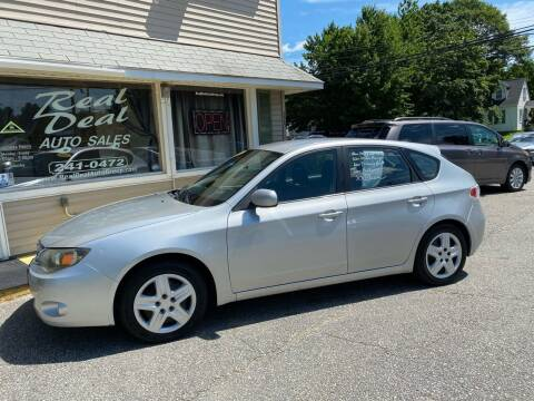 2009 Subaru Impreza for sale at Real Deal Auto Sales in Auburn ME