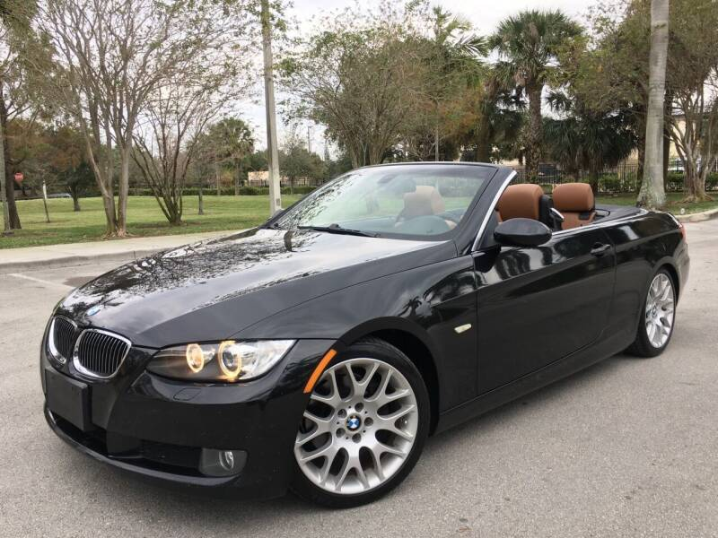 2008 BMW 3 Series for sale at FIRST FLORIDA MOTOR SPORTS in Pompano Beach FL