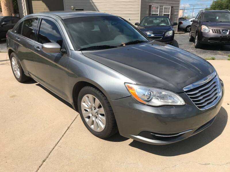 2013 Chrysler 200 for sale at Two Rivers Auto Sales Corp. in South Bend IN