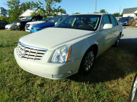 2011 Cadillac DTS for sale at Creech Auto Sales in Garner NC