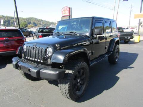 2012 Jeep Wrangler Unlimited for sale at Joe's Preowned Autos 2 in Wellsburg WV
