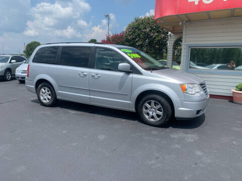2010 Chrysler Town and Country for sale at Doug White's Auto Wholesale Mart in Newton NC