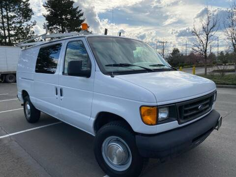 2005 Ford E-Series Cargo for sale at AC Enterprises in Oregon City OR