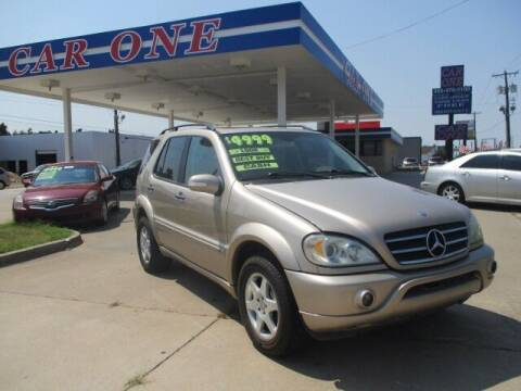 2003 Mercedes-Benz M-Class for sale at Car One in Warr Acres OK
