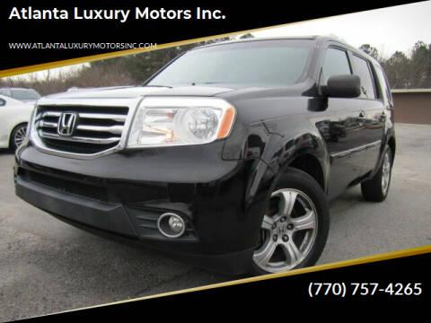 2012 Honda Pilot for sale at Atlanta Luxury Motors Inc. in Buford GA