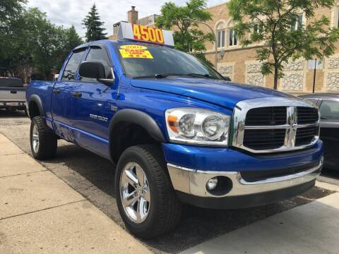 2007 Dodge Ram Pickup 1500 for sale at Jeff Auto Sales INC in Chicago IL