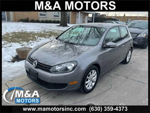 2010 Volkswagen Golf for sale at M & A Motors in Addison IL
