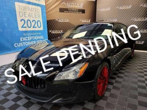 2016 Maserati Quattroporte for sale at X Drive Auto Sales Inc. in Dearborn Heights MI