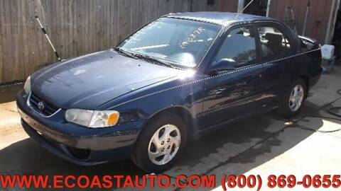 2002 Toyota Corolla for sale at East Coast Auto Source Inc. in Bedford VA