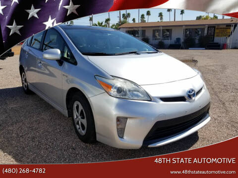 2012 Toyota Prius for sale at 48TH STATE AUTOMOTIVE in Mesa AZ