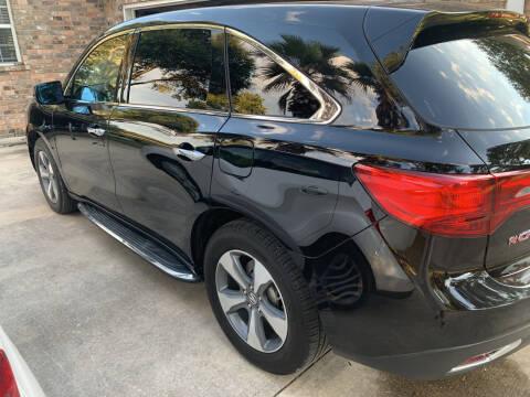 2016 Acura MDX for sale at BULLSEYE MOTORS INC in New Braunfels TX