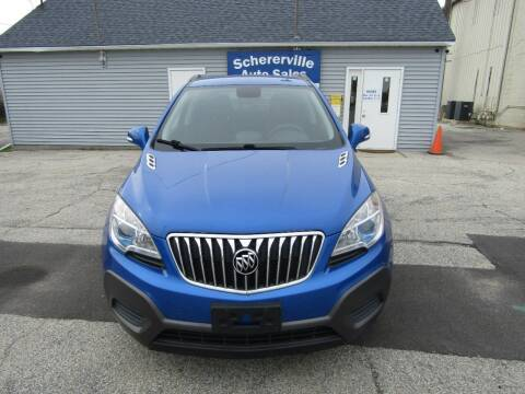 2015 Buick Encore for sale at SCHERERVILLE AUTO SALES in Schererville IN
