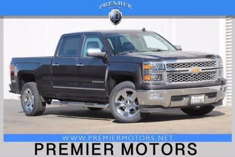 2014 Chevrolet Silverado 1500 for sale at Premier Motors in Hayward CA