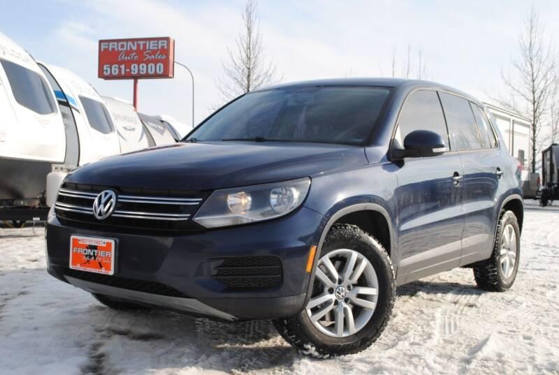 2012 Volkswagen Tiguan for sale at Frontier Auto & RV Sales in Anchorage AK