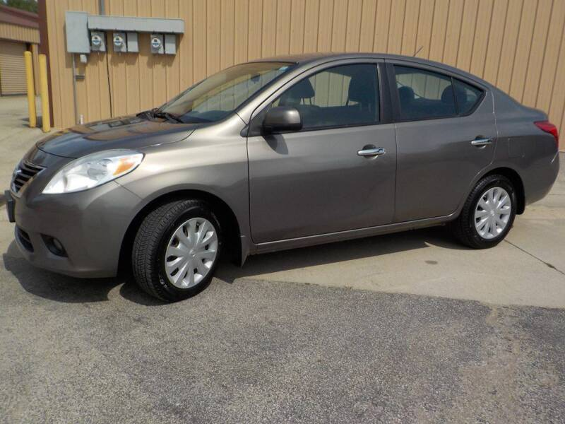 2012 Nissan Versa for sale at Automotive Locator- Auto Sales in Groveport OH