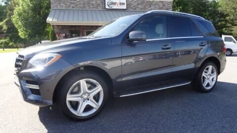 2014 Mercedes-Benz M-Class for sale at Driven Pre-Owned in Lenoir NC