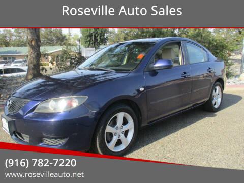 2005 Mazda MAZDA3 for sale at Roseville Auto Sales in Roseville CA
