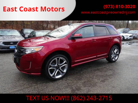 2014 Ford Edge for sale at East Coast Motors in Lake Hopatcong NJ