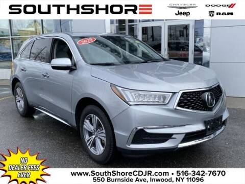 2020 Acura MDX for sale at South Shore Chrysler Dodge Jeep Ram in Inwood NY
