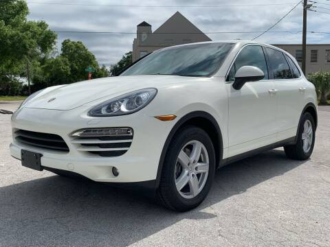 2011 Porsche Cayenne for sale at LUXURY AUTO MALL in Tampa FL