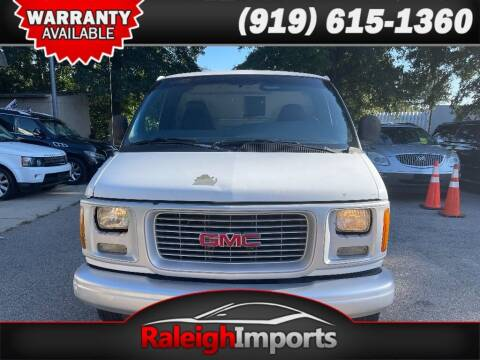 1999 GMC Savana Cargo for sale at Raleigh Imports in Raleigh NC
