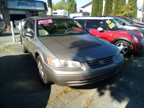 1997 Toyota Camry for sale at Payless Car & Truck Sales in Mount Vernon WA