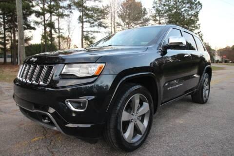 2015 Jeep Grand Cherokee for sale at Oak City Motors in Garner NC