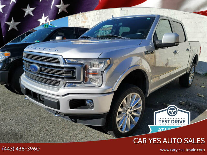 2018 Ford F-150 for sale at Car Yes Auto Sales in Baltimore MD