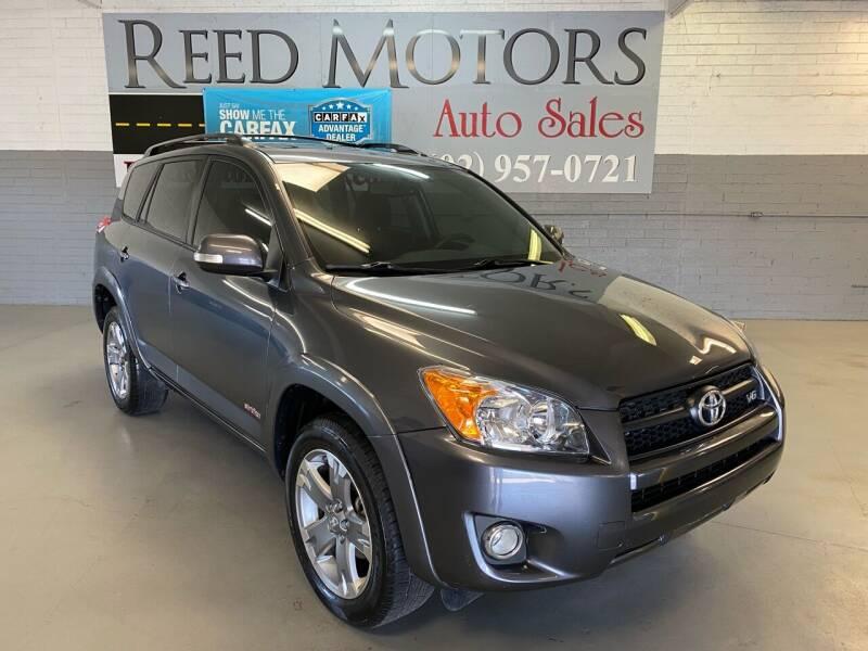 2011 Toyota RAV4 for sale at REED MOTORS LLC in Phoenix AZ