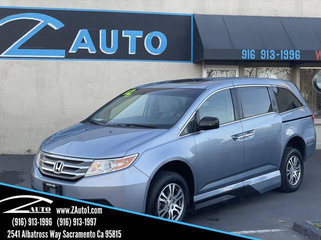 2012 Honda Odyssey for sale at Z Auto in Sacramento CA