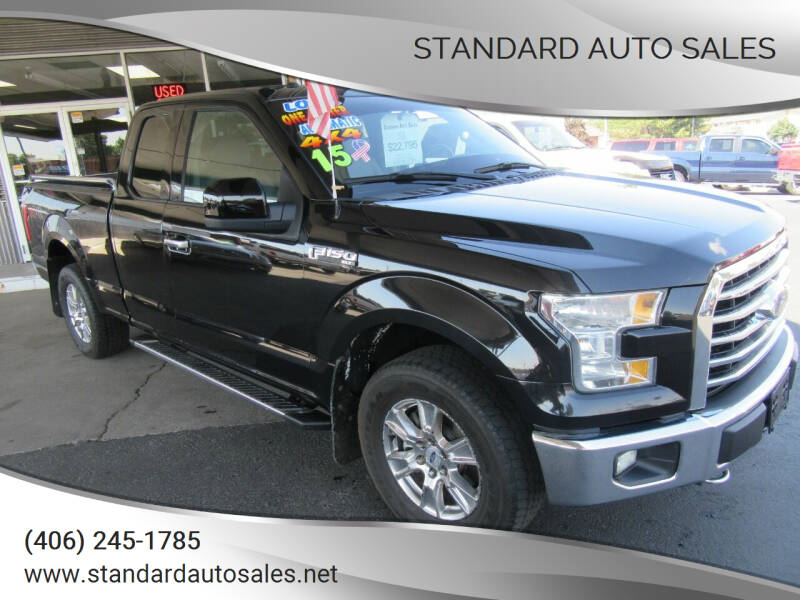 2015 Ford F-150 for sale at Standard Auto Sales in Billings MT