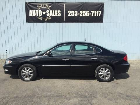 2008 Buick LaCrosse for sale at Austin's Auto Sales in Edgewood WA