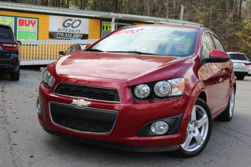 2014 Chevrolet Sonic for sale at Go Auto Sales in Gainesville GA