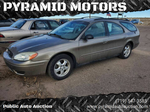 2005 Ford Taurus for sale at PYRAMID MOTORS - Pueblo Lot in Pueblo CO