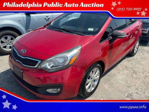 2013 Kia Rio for sale at Philadelphia Public Auto Auction in Philadelphia PA