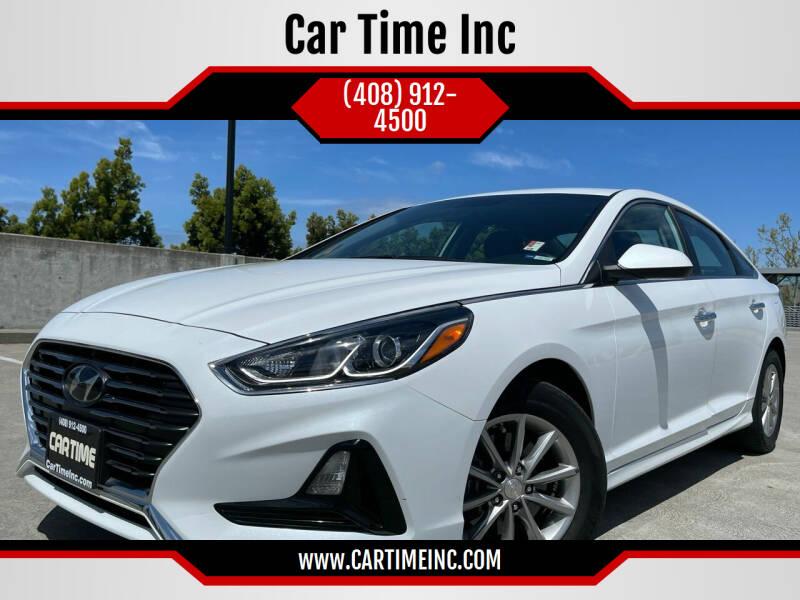 2018 Hyundai Sonata for sale at Car Time Inc in San Jose CA