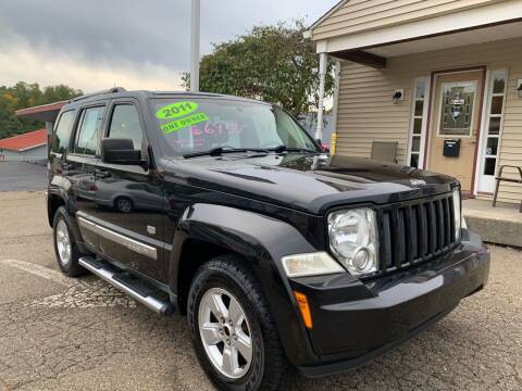 2011 Jeep Liberty for sale at G & G Auto Sales in Steubenville OH