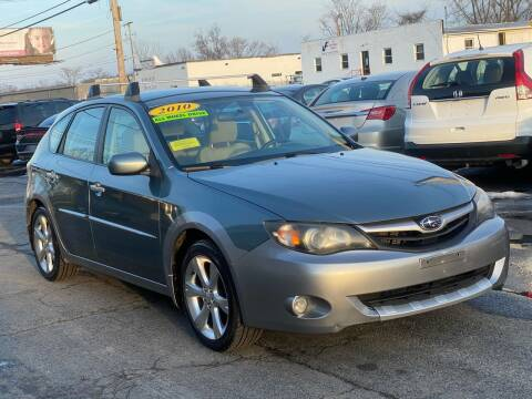 2010 Subaru Impreza for sale at MetroWest Auto Sales in Worcester MA
