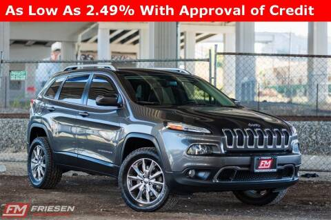 2014 Jeep Cherokee for sale at Friesen Motorsports in Tacoma WA