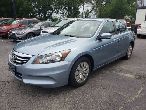 2012 Honda Accord for sale at Real Deal Auto Sales in Manchester NH