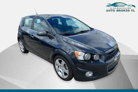 2014 Chevrolet Sonic for sale at INTERNATIONAL AUTO BROKERS INC in Hollywood FL