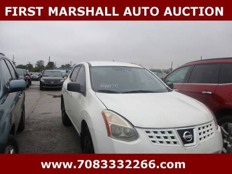 2009 Nissan Rogue for sale at First Marshall Auto Auction in Harvey IL