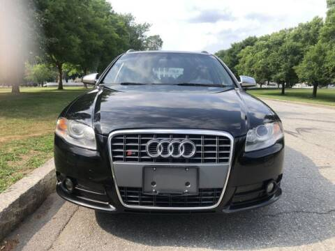 2007 Audi S4 for sale at NEW ENGLAND AUTO CENTER in Lowell MA
